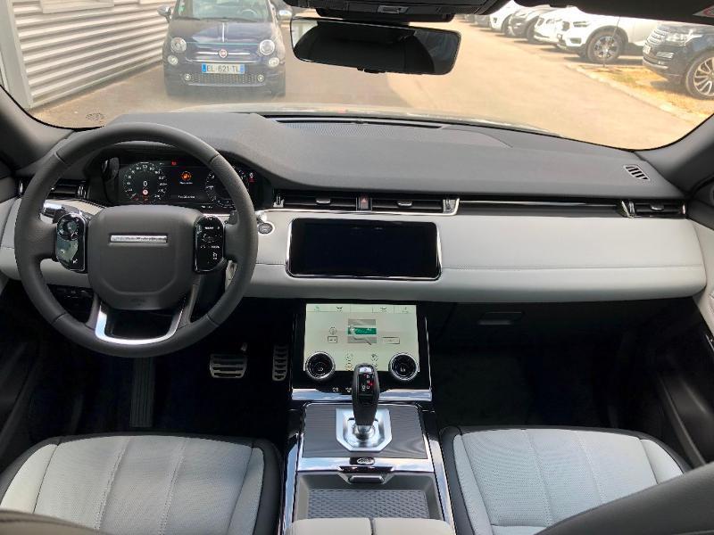 Land rover Range Rover Evoque 2.0 P 200ch R-Dynamic SE AWD BVA Noir occasion à Barberey-Saint-Sulpice - photo n°7
