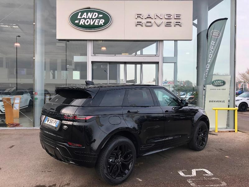 Land rover Range Rover Evoque 2.0 P 200ch R-Dynamic SE AWD BVA Noir occasion à Barberey-Saint-Sulpice - photo n°3