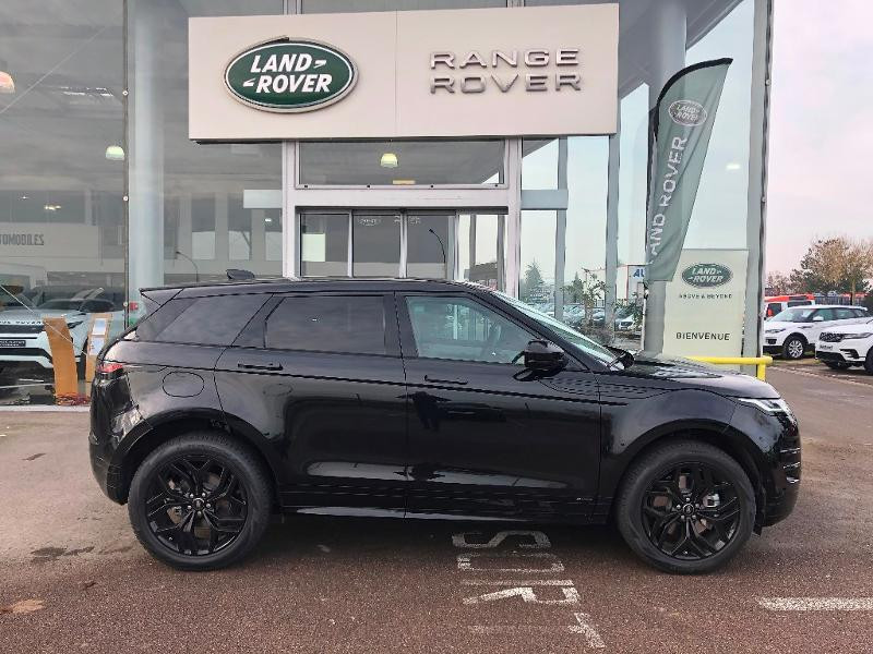 Land rover Range Rover Evoque 2.0 P 200ch R-Dynamic SE AWD BVA Noir occasion à Barberey-Saint-Sulpice - photo n°2