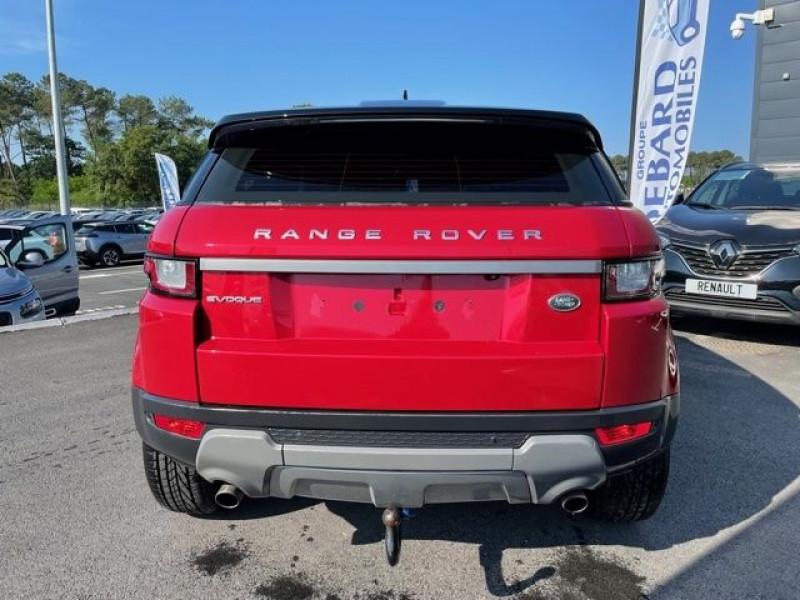 Land rover Range Rover Evoque 2.0 TD4 150 BUSINESS BVA MARK III Rouge occasion à Mées - photo n°5