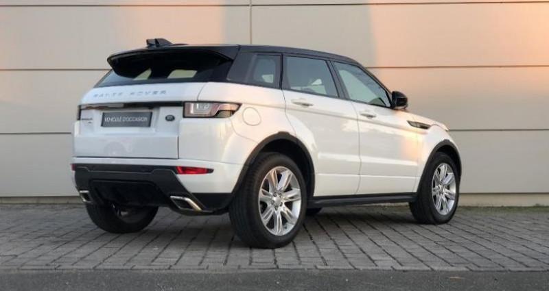 Land rover Range Rover Evoque 2.0 TD4 150 HSE Dynamic BVA Mark V Blanc occasion à Orlans - photo n°3