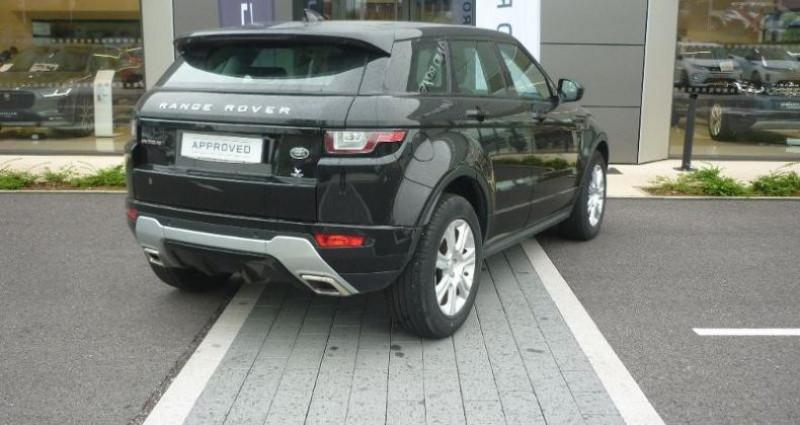 Land rover Range Rover Evoque 2.0 TD4 150 SE Dynamic 4x4 BVA Mark VI Noir occasion à Laxou - photo n°2