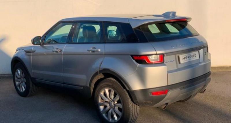 Land rover Range Rover Evoque 2.0 TD4 150 SE MARK V Indus Silver Argent occasion à Boulogne Sur Mer - photo n°4