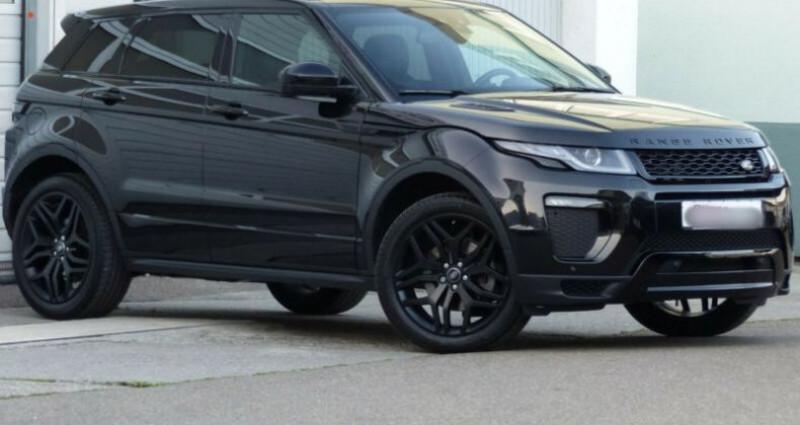 Land rover Range Rover Evoque 2.0 TD4 180 HSE Dynamic BVA Noir occasion à Boulogne-Billancourt - photo n°2