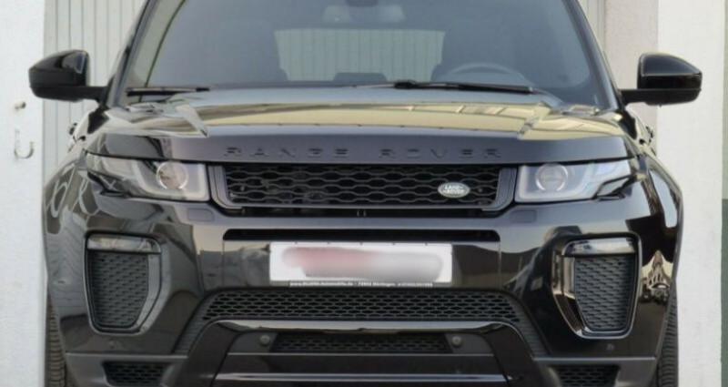 Land rover Range Rover Evoque 2.0 TD4 180 HSE Dynamic BVA Noir occasion à Boulogne-Billancourt - photo n°6