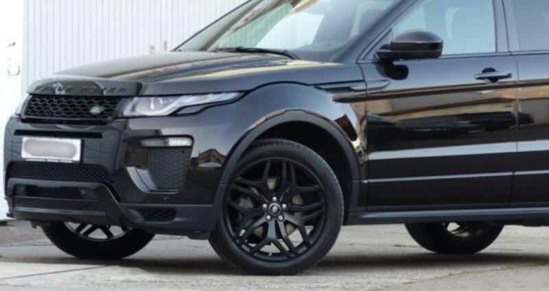 Land rover Range Rover Evoque 2.0 TD4 180 HSE Dynamic BVA Noir occasion à Boulogne-Billancourt - photo n°5