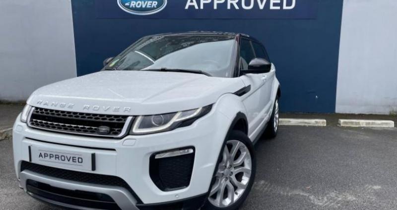 Land rover Range Rover Evoque 2.0 TD4 180 SE Dynamic BVA Mark IV Blanc occasion à Chennevieres Sur Marne
