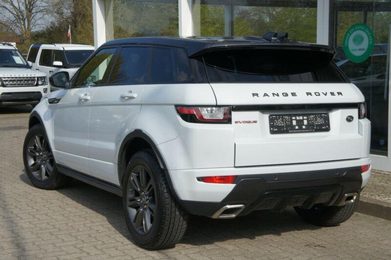 Land rover Range Rover Evoque 2.0 TD4 180 SE DYNAMIC BVA MARK V Blanc occasion à Villenave-d'Ornon - photo n°2