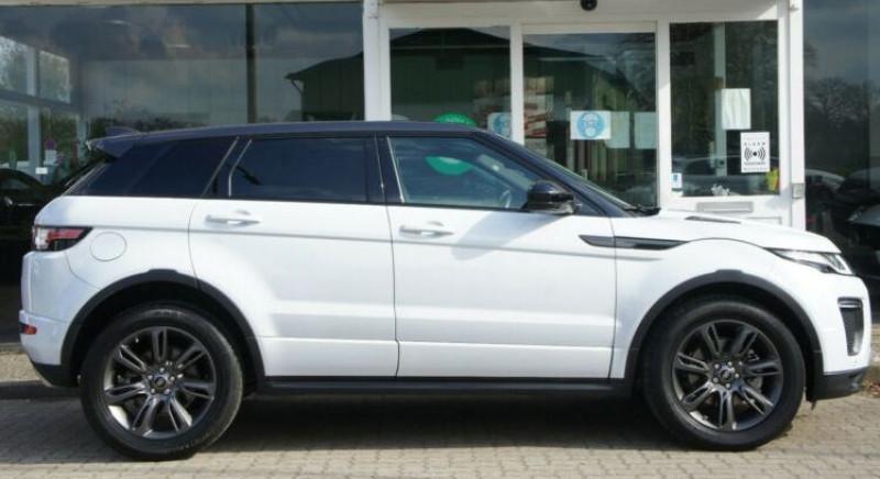 Land rover Range Rover Evoque 2.0 TD4 180 SE DYNAMIC BVA MARK V Blanc occasion à Villenave-d'Ornon - photo n°4