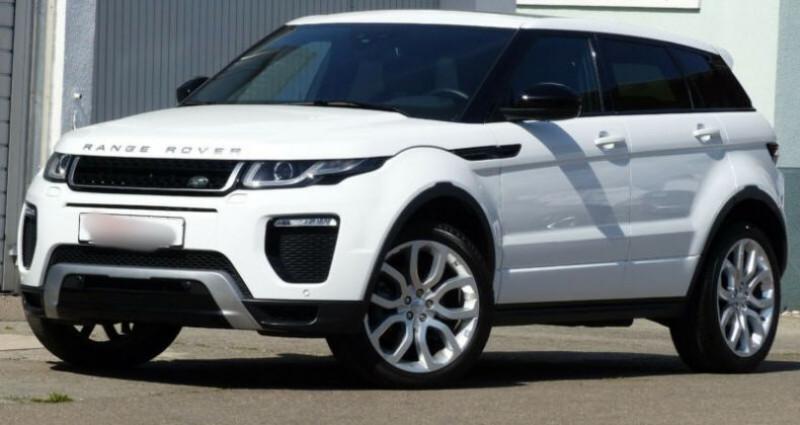Land rover Range Rover Evoque 2.0 TD4 AWD DYNAMIC Blanc occasion à Boulogne-Billancourt