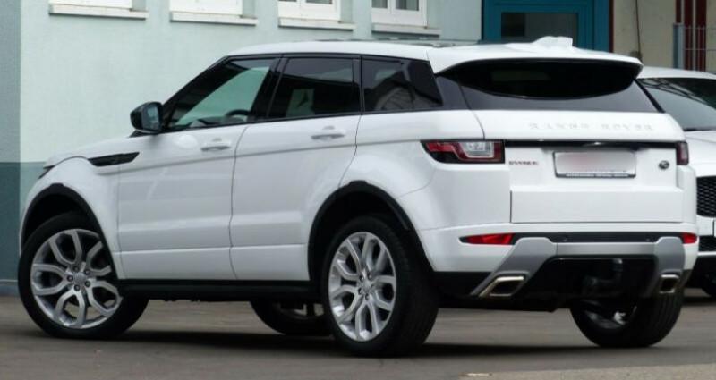 Land rover Range Rover Evoque 2.0 TD4 AWD DYNAMIC Blanc occasion à Boulogne-Billancourt - photo n°3