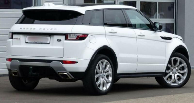 Land rover Range Rover Evoque 2.0 TD4 AWD DYNAMIC Blanc occasion à Boulogne-Billancourt - photo n°4