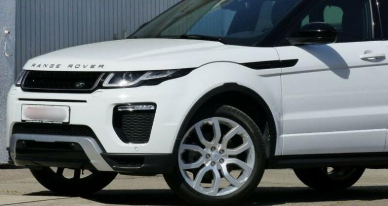 Land rover Range Rover Evoque 2.0 TD4 AWD DYNAMIC Blanc occasion à Boulogne-Billancourt - photo n°5