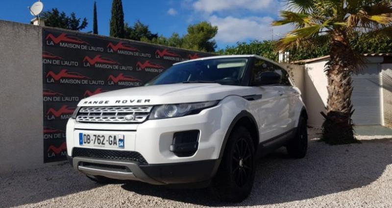Land rover Range Rover Evoque 2.2 D 4X4 DIESEL Blanc occasion à Mudaison
