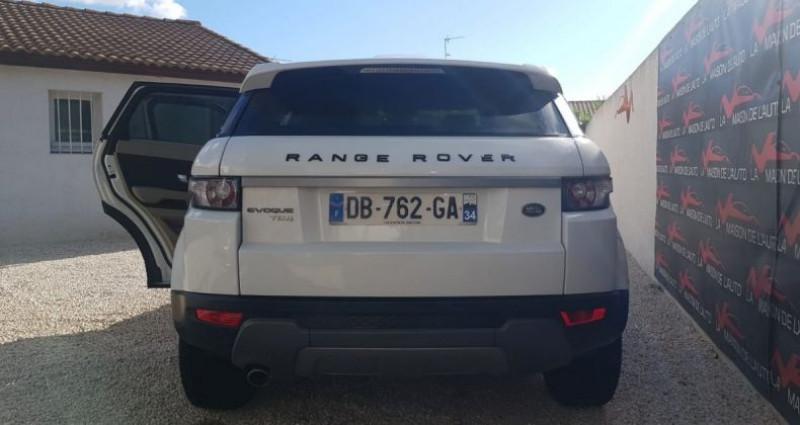 Land rover Range Rover Evoque 2.2 D 4X4 DIESEL Blanc occasion à Mudaison - photo n°5