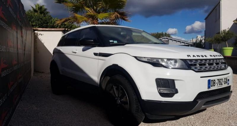 Land rover Range Rover Evoque 2.2 D 4X4 DIESEL Blanc occasion à Mudaison - photo n°2