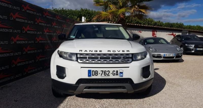 Land rover Range Rover Evoque 2.2 D 4X4 DIESEL Blanc occasion à Mudaison - photo n°3