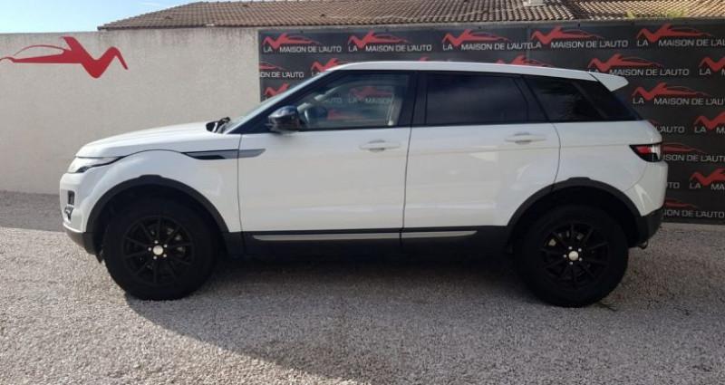 Land rover Range Rover Evoque 2.2 D 4X4 DIESEL Blanc occasion à Mudaison - photo n°4