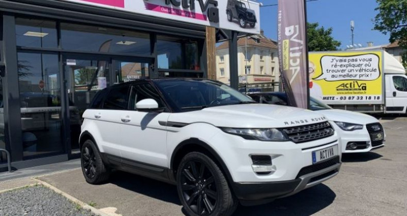 Land rover Range Rover Evoque 2.2 eD4 Pure Blanc occasion à WOIPPY