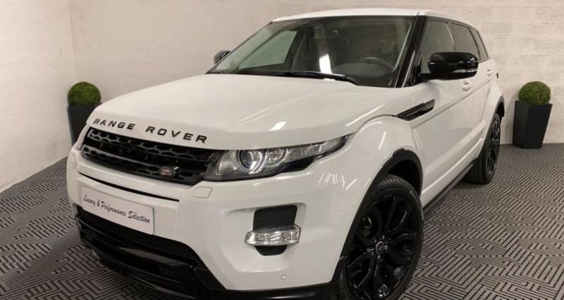 Land rover Range Rover Evoque 2,2 SD4 190ch DYNAMIC 89000km EXCELLENT ETAT Blanc occasion à Villeneuve Loubet