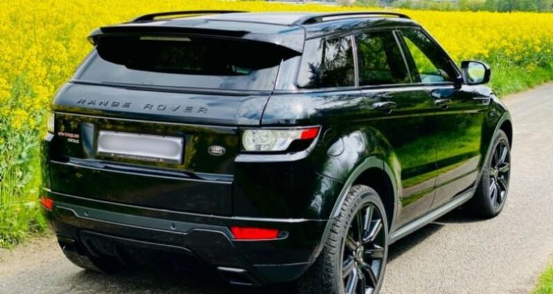Land rover Range Rover Evoque 2.2 SD4 Dynamic BVA Mark I Noir occasion à Boulogne-Billancourt - photo n°2