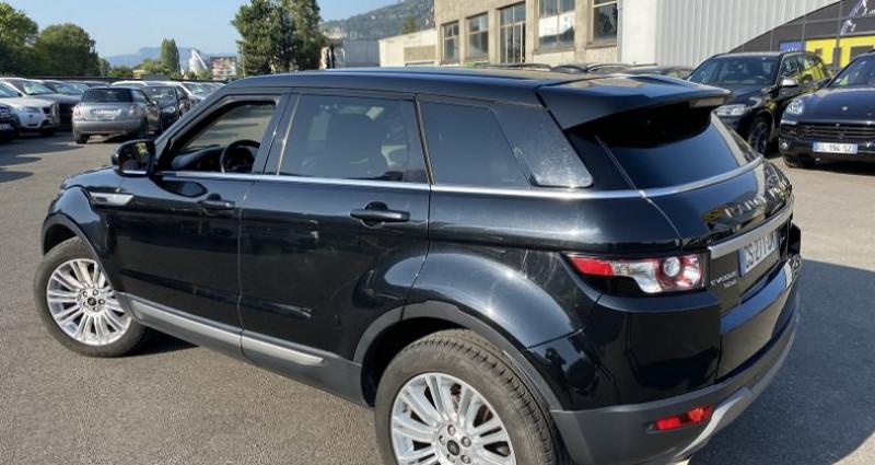 Land rover Range Rover Evoque 2.2 SD4 PRESTIGE Noir occasion à VOREPPE - photo n°3