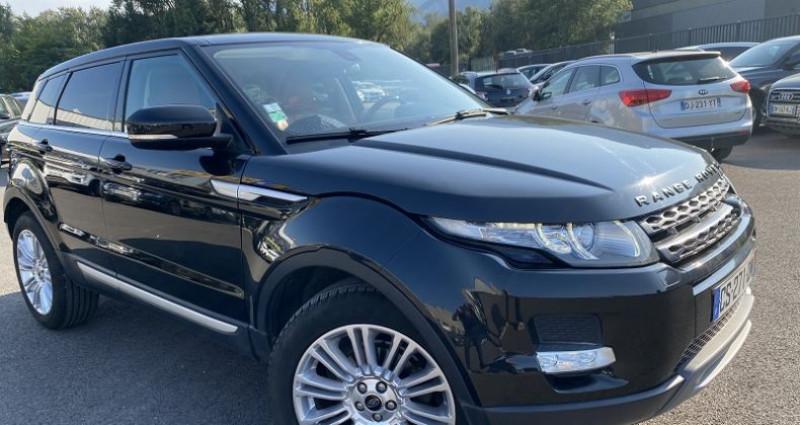 Land rover Range Rover Evoque 2.2 SD4 PRESTIGE Noir occasion à VOREPPE - photo n°2