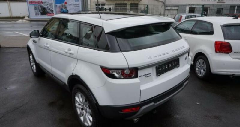 Land rover Range Rover Evoque 2.2 SD4 Pure Pack Tech BVA Blanc occasion à Boulogne-Billancourt - photo n°4