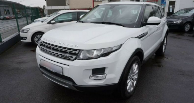 Land rover Range Rover Evoque 2.2 SD4 Pure Pack Tech BVA Blanc occasion à Boulogne-Billancourt