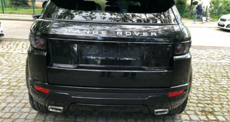 Land rover Range Rover Evoque 2.2 Td4 Dynamic BVA Mark II Noir occasion à Boulogne-Billancourt - photo n°3
