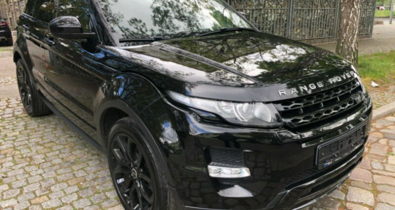 Land rover Range Rover Evoque 2.2 Td4 Dynamic BVA Mark II Noir occasion à Boulogne-Billancourt - photo n°2
