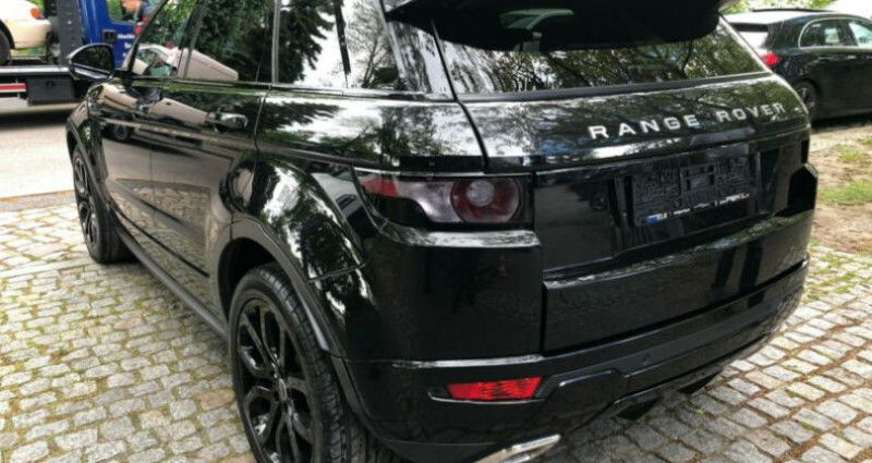 Land rover Range Rover Evoque 2.2 Td4 Dynamic BVA Mark II Noir occasion à Boulogne-Billancourt - photo n°4