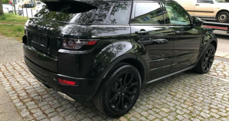 Land rover Range Rover Evoque 2.2 Td4 Dynamic BVA Mark II Noir occasion à Boulogne-Billancourt - photo n°6