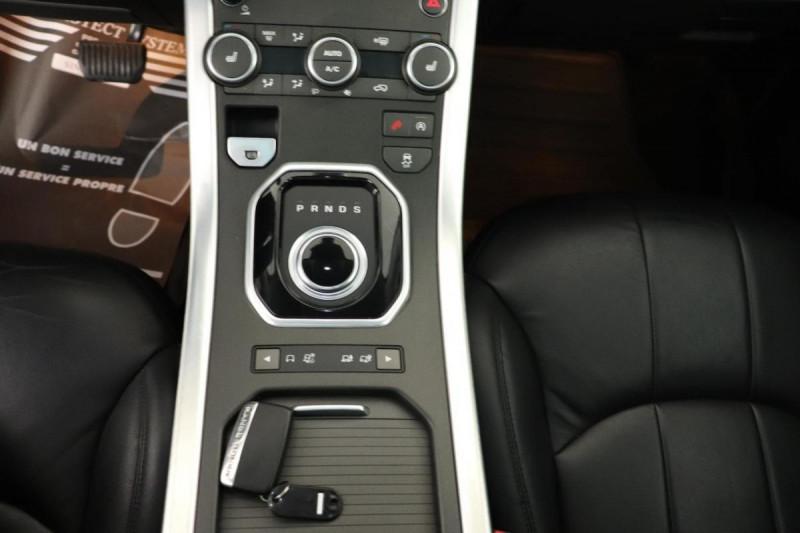 Land rover Range Rover Evoque BUSINESS Mark IV TD4 180 BVA Executive Noir occasion à Tours - photo n°11