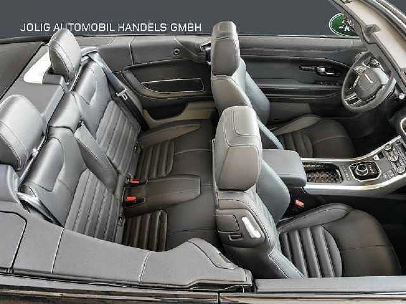 Land rover Range Rover Evoque Cabriolet Si4 240 HSE Dynamic Noir occasion à Beaupuy - photo n°5