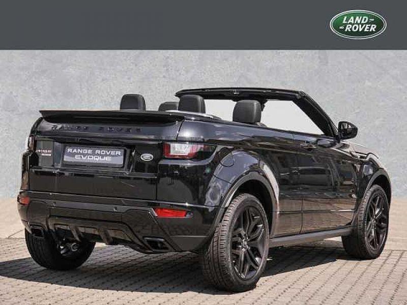 Land rover Range Rover Evoque Cabriolet Si4 240 HSE Dynamic Noir occasion à Beaupuy - photo n°3