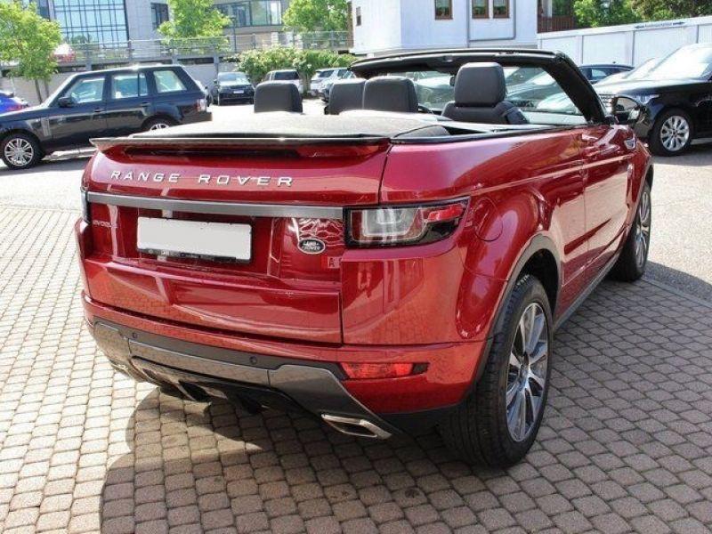 Land rover Range Rover Evoque Cabriolet TD4 150 SE Dynamic Rouge occasion à Beaupuy - photo n°3