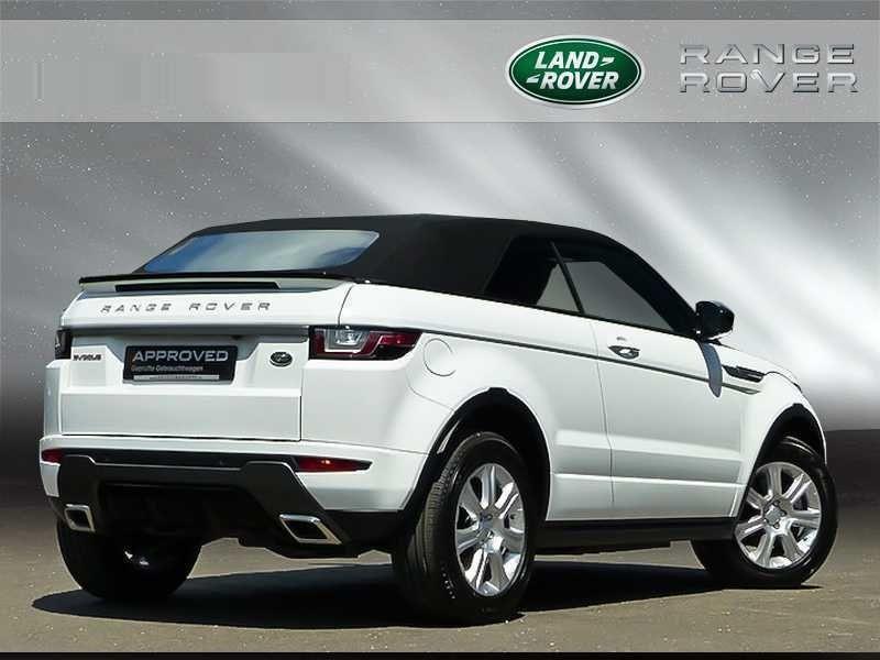 Land rover Range Rover Evoque Cabriolet TD4 180 SE Dynamic Blanc occasion à Beaupuy - photo n°3