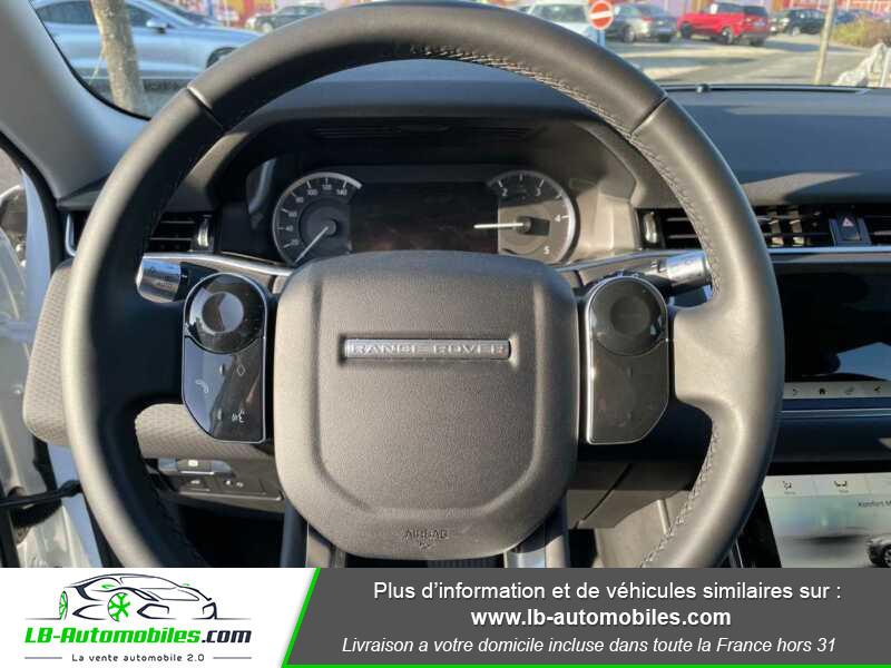 Land rover Range Rover Evoque D150 AWD BVA9 Blanc occasion à Beaupuy - photo n°6