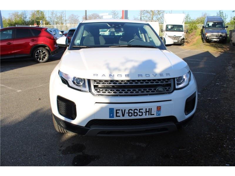 Land rover Range Rover Evoque ED4 150 BVM Business Blanc occasion à LABEGE CEDEX - photo n°4
