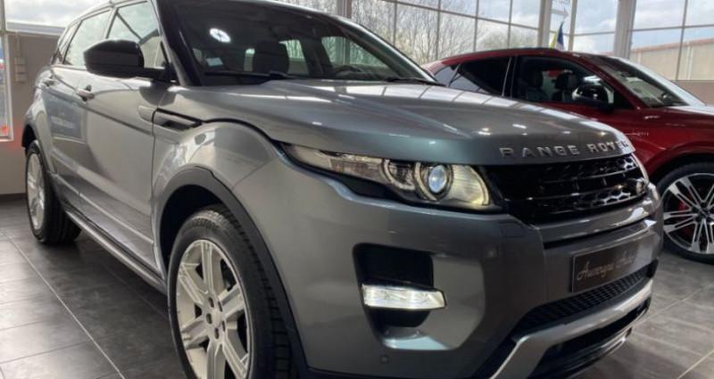 Land rover Range Rover Evoque EVOQUE 2.2 ED4 150CH FAP S/S DYNAMIC 2WD Gris occasion à COURNON D'AUVERGNE - photo n°2