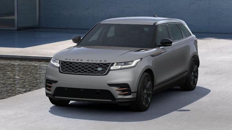 Land rover Range Rover Velar 2.0 d 180cv bva awd r-dynamic hse + pack design black r-dyna Gris occasion à Ganges