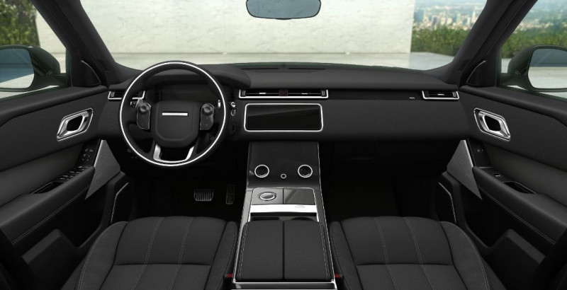 Land rover Range Rover Velar 2.0D 240ch R-Dynamic SE AWD BVA Noir occasion à SAINT ETIENNE - photo n°3