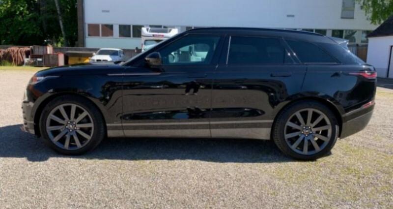 Land rover Range Rover Velar 2.0P 300ch R-Dynamic Noir occasion à Boulogne-Billancourt - photo n°4