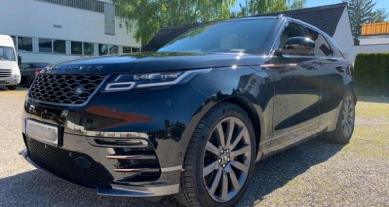 Land rover Range Rover Velar 2.0P 300ch R-Dynamic Noir occasion à Boulogne-Billancourt - photo n°2
