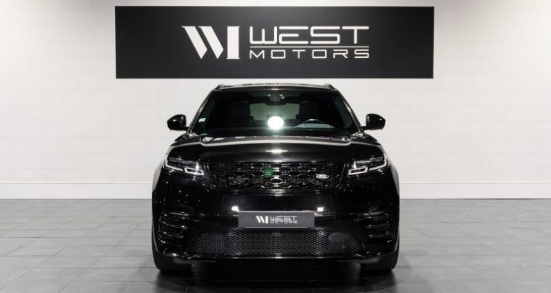 Land rover Range Rover Velar 3.0 D300 R-Dynamic Auto Noir occasion à DARDILLY - photo n°2