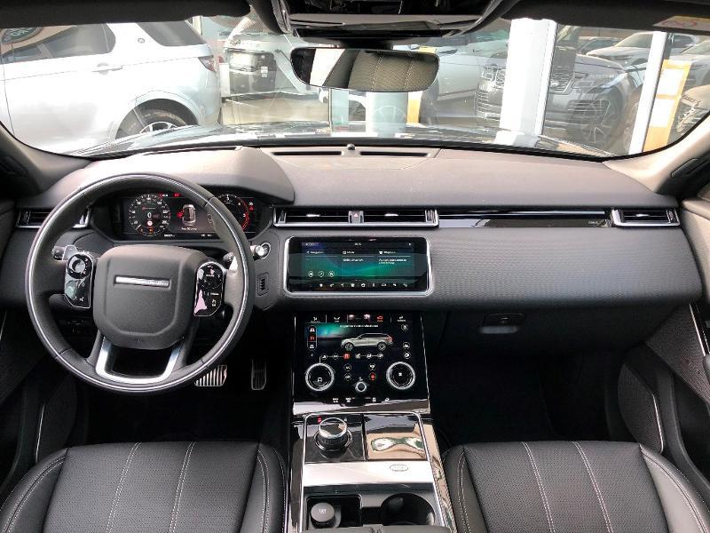 Land rover Range Rover Velar 3.0D V6 275ch R-Dynamic SE AWD BVA Gris occasion à Barberey-Saint-Sulpice - photo n°5
