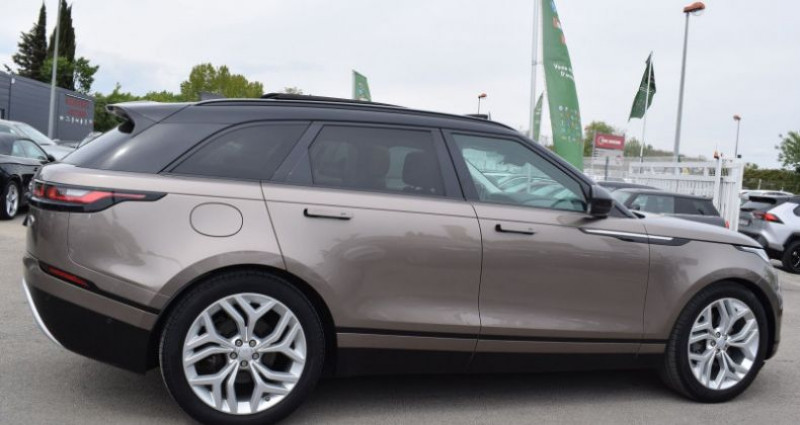 Land rover Range Rover Velar 3.0D V6 300CH R-DYNAMIC SE AWD BVA Bronze occasion à VENDARGUES - photo n°6