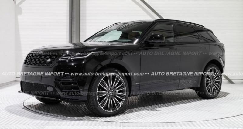 Land rover Range Rover Velar D240 R-DYNAMIC HSE (Pano, HdUp, cam 360...) 2019 Noir occasion à Pornic