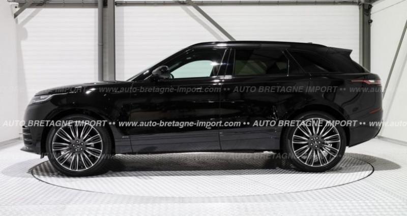 Land rover Range Rover Velar D240 R-DYNAMIC HSE (Pano, HdUp, cam 360...) 2019 Noir occasion à Pornic - photo n°4